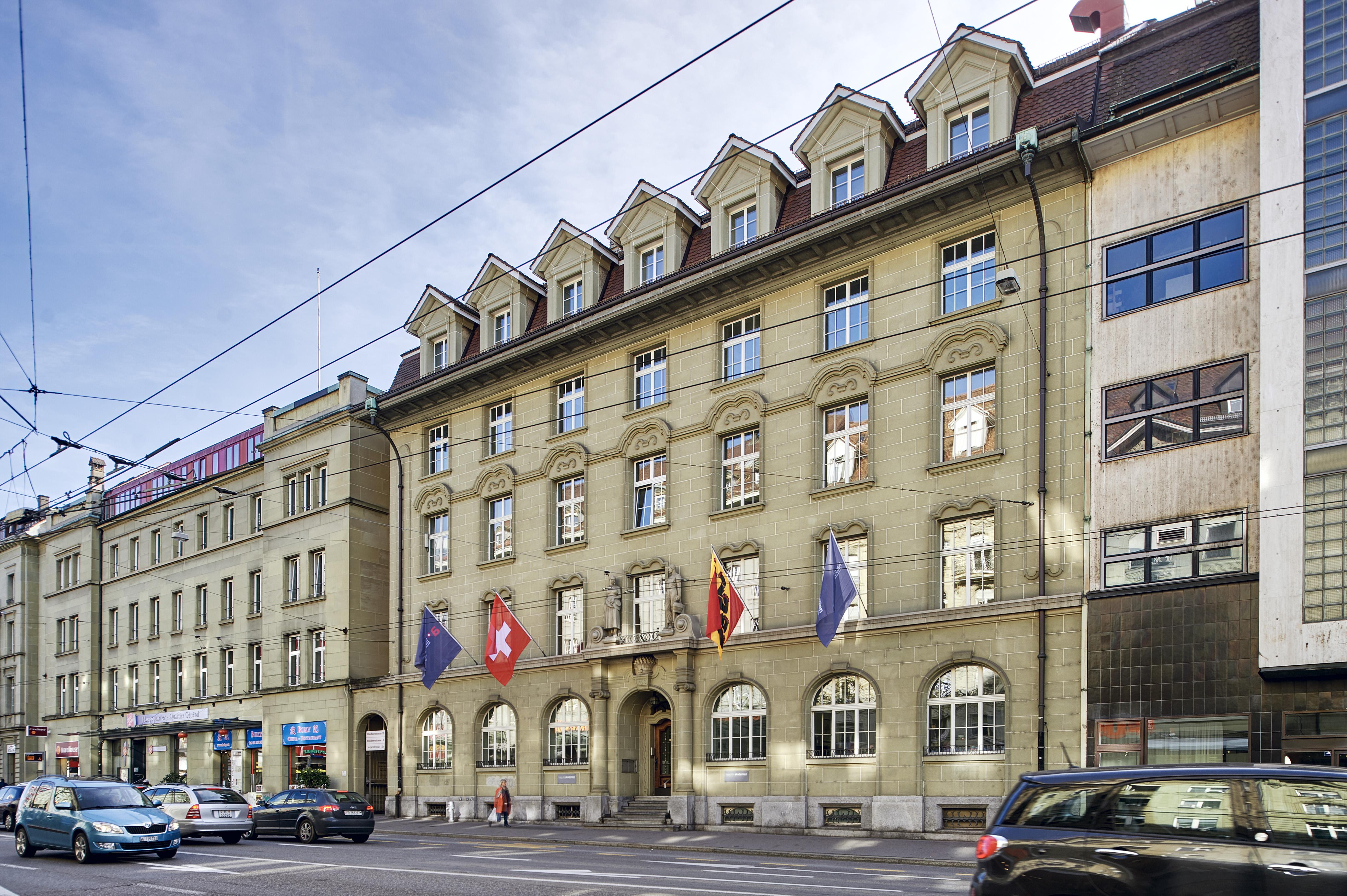 Haus der Akademien, Laupenstrasse 7, 3008 Bern. © Manu Friederich